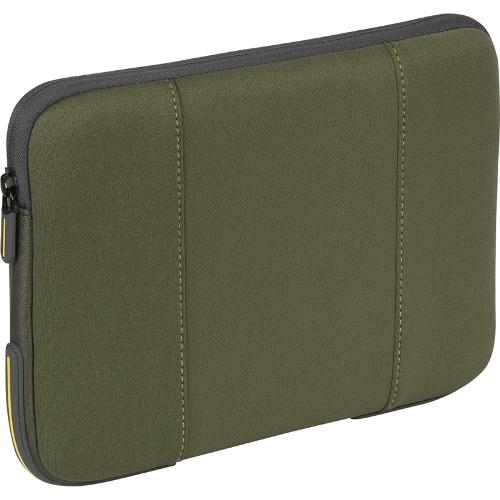 "Targus 10.2"" Impax Laptop Sleeve - Green & Gray Accents"