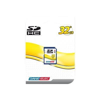 Dane-Elec flash memory card - 32 GB - SDHC (DA-SD-32GB-R)