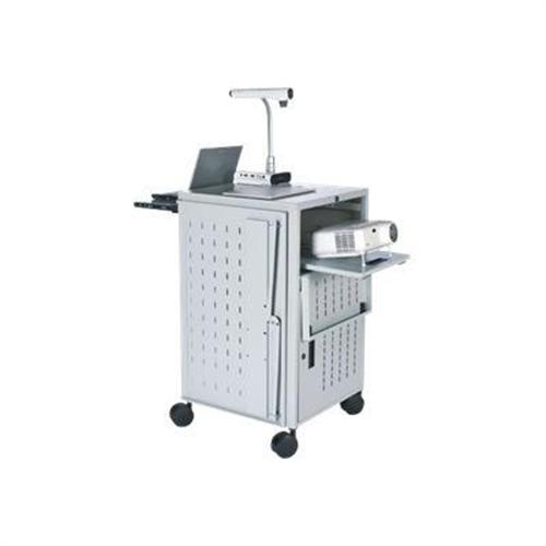 Bretford Manufacturing Antimicrobial Products Solutions PAL Multimedia Presentation Cart TCP23FF-CTMBT - cart