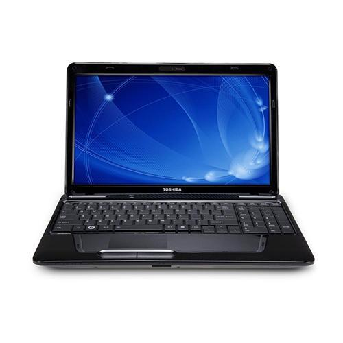 "Toshiba Satellite L655D-S5067 AMD Turion II Dual Core P520 2.3GHz Notebook - 4GB DDR3, 320GB HDD, DVD SuperMulti Drive, 15.6"" HD TruBrite TFT LED, ATI Radeon HD 5145, 10/100 LAN, 802.11b/g/n, Windows 7 Home Premium 64-bit - Fusion Finish in Helios Black"