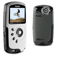 8252713 lg Kodak PlaySport Zx3 1442102 R HD Waterproof Video Camera   Refurbished   $93