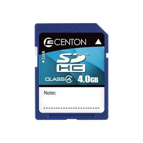 Centon Flash memory card - 4 GB - SDHC