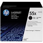 HP Inc. LaserJet CE255X Dual Pack Black Print Cartridges CE255XD