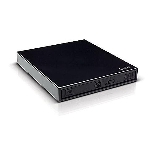 LaCie DVD-Writer-External Portable DVDRW - USB 8x Burner Double-Layer