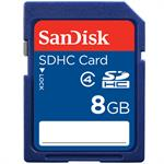 Sandisk Standard - Flash memory card - 8 GB - Class 4 - SDHC SDSDB-008G-B35