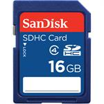 Sandisk Standard - Flash memory card - 16 GB - Class 4 - SDHC SDSDB-016G-B35