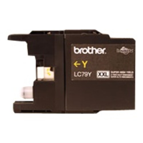 Brother LC79Y - Super High Yield - yellow - original - ink cartridge