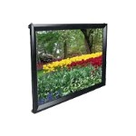 ezFrame Series R106WH1 - Projection screen - wall mountable - 106 in (105.9 in) - 16:9 - Tension White - black
