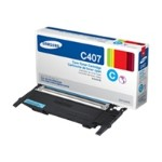 CLT-C407S - Cyan - original - toner cartridge - for CLP-320, 320N, 325, 325W; CLX-3185, 3185FN, 3185FW, 3185N