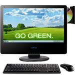 "VPC221 Intel Core i3 3.08GHz All-in-one PC - 4GB RAM, 500GB HDD, 21.5"" Widescreen TFT Multi-Touch, NVIDIA GeForce 310M, DVD±RW, Gigabit Ethernet, 802.11b/g/n, 1.3MP Webcam, Black"