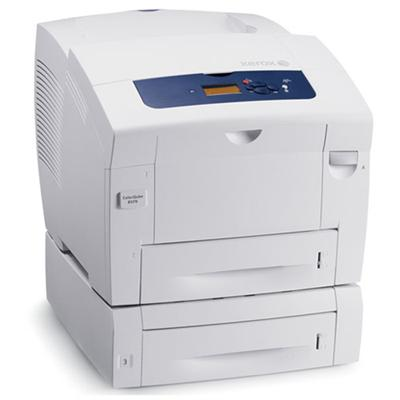 Xerox ColorQube 8570/YDT Color Solid Ink Printer - Ethernet, USB, 2X525 Letter/Legal Input Tray, Two-Sided Printing, TAA Compliant. (8570/YDT)