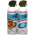 Maxell Blast Away Canned Air (2 Pack) 190026