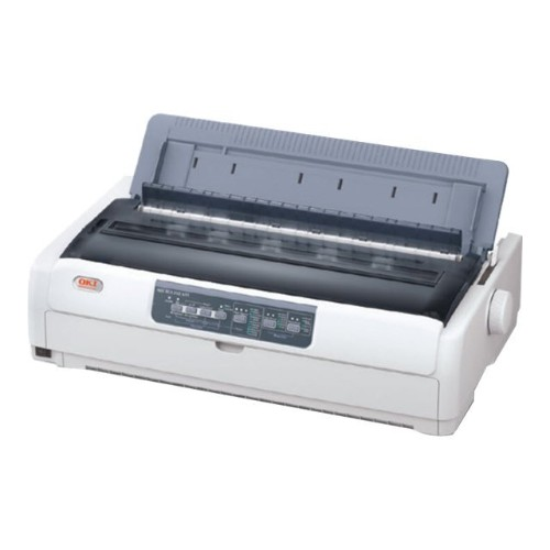 Oki Microline 690 Monochrome Dot-Matrix Printer - Parallel, USB