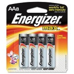 MAX Alkaline Batteries, AA, 8 Batteries/Pack