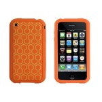 XtremeMac Tuffwrap Tatu Skin Silicone for iPhone 3G/3GS - Hex Orange