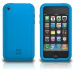 HP XtremeMac Tuffwrap Silicone Case for iPhone 3GS - Blue 01943