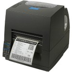 CL-S621 - Label printer - DT/TT - Roll (4.65 in) - 203 dpi - up to 359.1 inch/min - USB, serial - dark gray