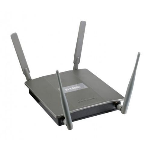 D-Link AirPremier N Simultaneous Dual Band PoE Access Point with Plenum-rated Chassis