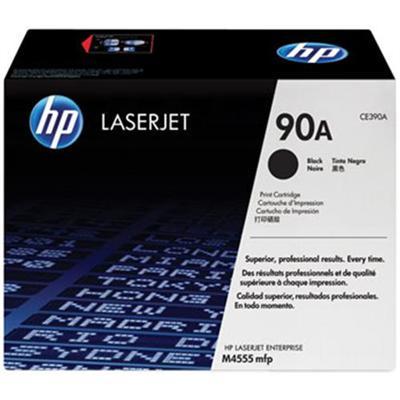 HP90A Black LaserJet Toner Cartridge with Smart Printing Technology(CE390A)