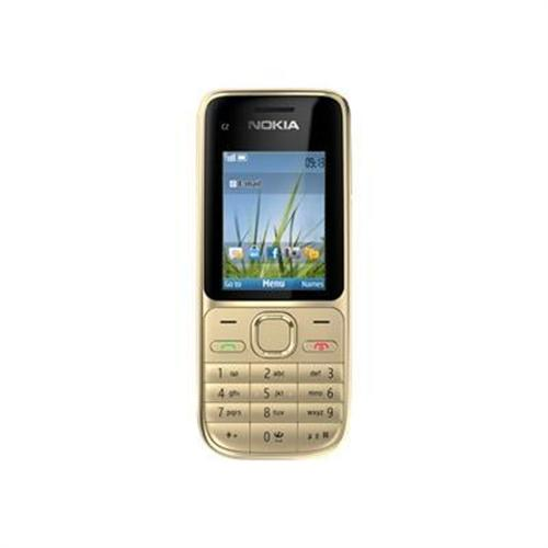 Nokia C2-01 - warm silver - 3G GSM - cellular phone