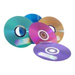 Colours - 10 x DVD-R - 4.7 GB ( 120min ) 16x - blue, purple, green, orange, pink - blister