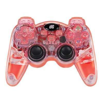 dreamGEAR Lava Glow Wireless Controller for PS3 (DGPS3-3831)