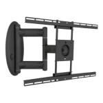 "Swingout Mount AM80 - Mounting kit ( swingout mount ) for LCD / plasma panel ( Tilt & Swivel ) - screen size: 37"" - 47"" - wall-mountable"