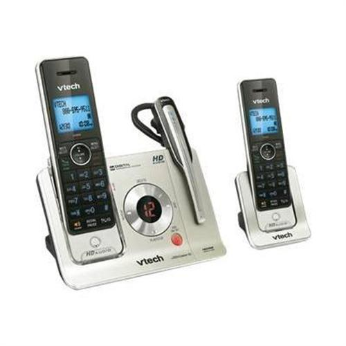 Vtech Communications LS6475-3 - cordless phone - answering system with caller ID/call waiting + additional handset