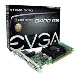 GeForce 8400 GS - Graphics card - GF 8400 GS - 512 MB DDR3 - PCIe 2.0 x16 - DVI, D-Sub, HDMI