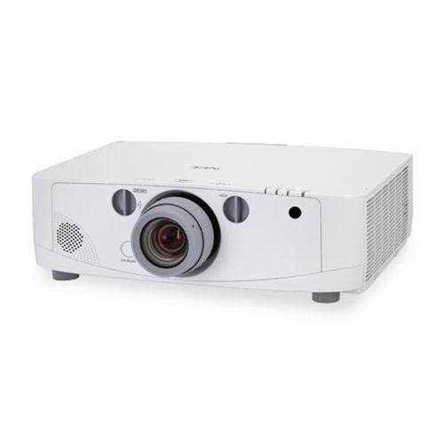NEC Displays 5000 ANSI Lumens Advanced Professional Installation Projector with Lens