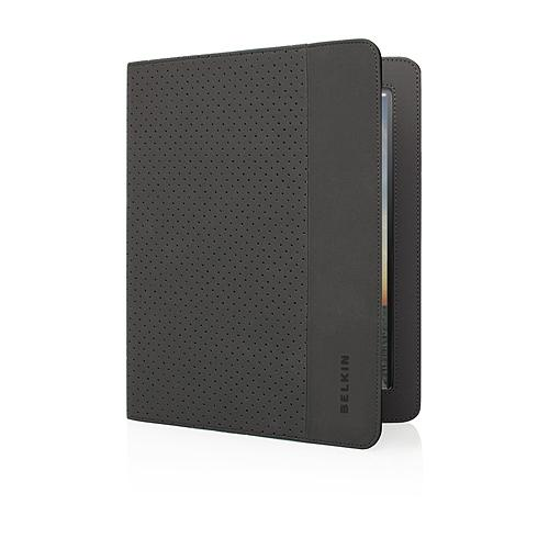 Belkin Flip Folio Stand for iPad 2 -  Black / Midnight