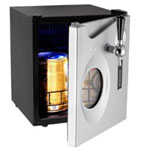 1.7 Cu. Ft. Beer Dispenser, Accommodates Up to 2 Mini Kegs Digital Temperature