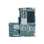 SUPERMICRO X7DGU - Motherboard - LGA771 Socket - 2 CPUs supported - i5000X - 2 x Gigabit LAN - onboard graphics