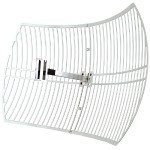 TL-ANT2424B - Antenna - pole mountable, wall mountable - outdoor - 802.11 b/g - 24 dBi - directional