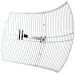 TL-ANT2424B - Antenna - pole mountable, wall mountable - outdoor - 802.11 b/g - 24 dBi - directional