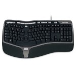 Natural Ergonomic Keyboard 4000 for Business - Keyboard - USB - English - North American layout