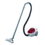 Panasonic Ultra-Lightweight Canister Vacuum Cleaner with Blower Function - Red MC-CG301