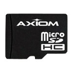 Axiom Memory AX - Flash memory card - 8 GB - Class 6 - SDHC MSDHC6/8GB-AX