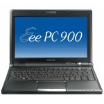 "Eee PC 900-BK091X Intel Celeron M ULV 353 900MHz Netbook - 512MB RAM, 8GB SSD, 8.9"" WSVGA LED Backlight Display, Integrated Graphics, Fast Ethernet, 802.11b/g, 1.3MP Webcam, Black - Refurbished"