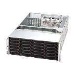 Supermicro SC846 E16-R1200B - Rack-mountable - 4U - extended ATX - SATA/SAS - hot-swap 1200 Watt - black
