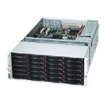 Supermicro SC847 E16-R1400LPB - Rack-mountable - 4U - extended ATX - SATA/SAS - hot-swap - power supply - redundant 1400 Watt - black
