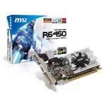 MSI Radeon 6450 1024MB DDR3 R6450-MD1GD3/LP
