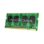 DDR2 - 1 GB - SO-DIMM 200-pin - 400 MHz / PC2-3200 - CL3 - 1.8 V - unbuffered - non-ECC