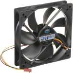 Cooler Master Silent Fan 120 SI2 - Case fan - 120 mm - black (pack of 4 ) R4-S2S-124K-GP