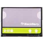 Cellular phone battery Li-Ion 1800 mAh - for BlackBerry Bold 9650; Curve 8900; Storm 9500, 9530; Storm2 9520, 9550; Tour 9630