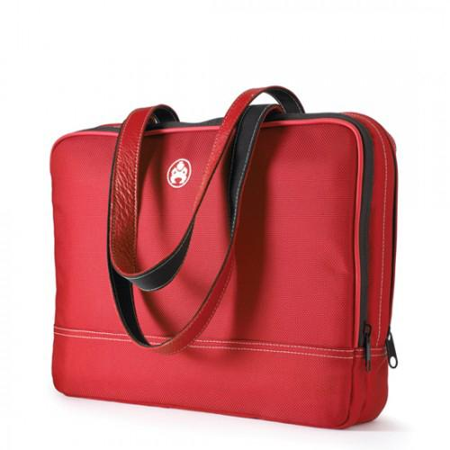 "Mobile Edge 12"" Women's Two Pocket Laptop Case - Red"