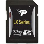 LX Series 32GB Class 10 SDHC Flash Memory Card