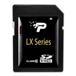 LX Series 8GB Class 10 SDHC Flash Memory Card