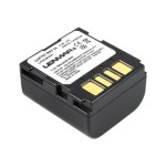 LIJ F707 - Camcorder battery Li-Ion 700 mAh - black - for JVC GR-D346, D350, X5, X5AA, X5AC, X5AG, X5AH, X5E, X5EX, X5U, X5US; Everio GZ-MG26, MG50
