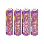 PRO 427 - Battery 4 x AA type NiMH 2700 mAh - gray